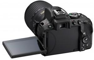 Nikon D5300 vari-angle LCD screen