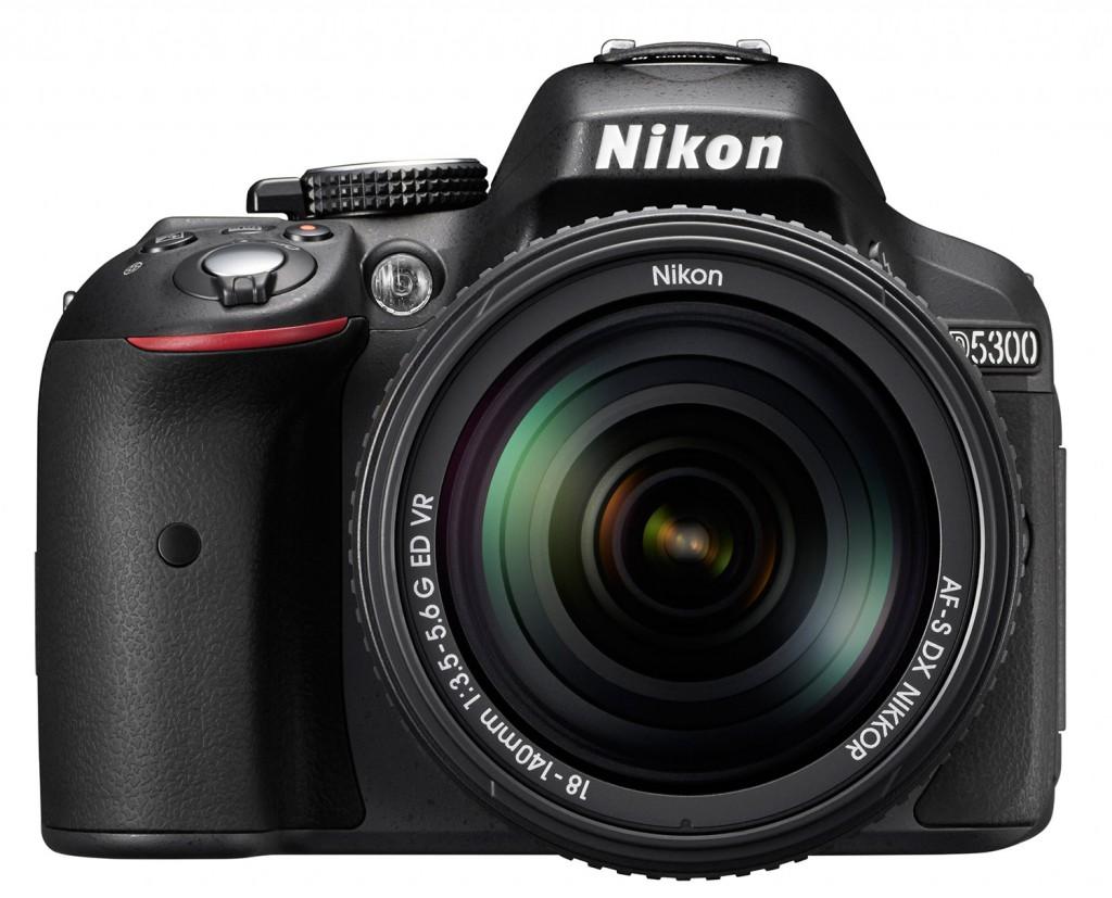 Nikon D5300 front picture